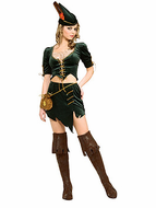 Adult Princess of Thieves Robin Hood Costume