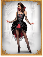 Adult Webbed Mistress Costume