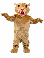 Big Cat Cougar Mascot Costume