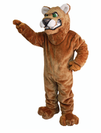 Fierce Cougar Mascot