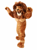 Friendly Lion Mascot