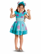 Girl Sulley Deluxe Costume