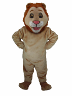 Happy Lion Mascot