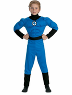 Kids Mr. Fantastic Muscle Deluxe Costume
