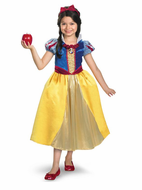 Kids Snow White Shimmer Deluxe Costume