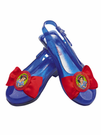 Kids Snow White Sparkle Shoes