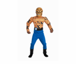 Kids The Thing Muscle With Mask Costume