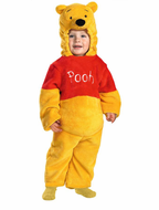 Kids Winnie the Pooh Costume - Deluxe Two-Sided Plush