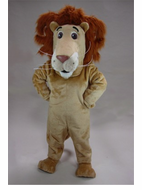 Louie the Lion Mascot