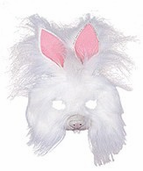 Plush Bunny Mask