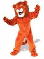 Power Cat Lion Mascot Costume