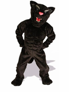 Power Cat Panther Mascot Costume