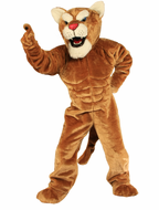 Power Cougar Mascot Costume