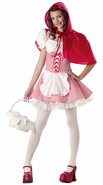 Teen Miss Red Riding Hood Costume
