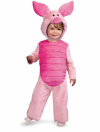 Toddler Piglet Plush Costume