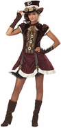 Tween Steampunk Girl Costume