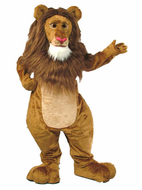 Wally the Lion Mascot Costume