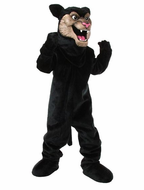 Wild Panther Mascot Costume
