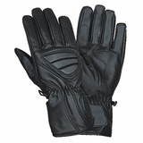 Mx-8 Leather Street Riding Gloves. Real Leather from Scooterhighway.com