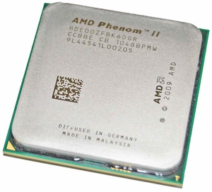 AMD HDE00ZFBK6DGR - 3.3 GHz 6 MB AM3 Phenom II X6 1100T Black Edition CPU Processor