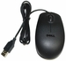 Dell MS111-L - Black Optical 3-Button Scroll Wheel USB Mouse for Dell Computers
