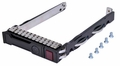 "Hewlett-Packard (HP) 651687-001 - SFF 2.5"" SAS SATA HDD Tray Caddy for ML350e ML310e SL250s G8 Gen8"