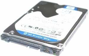 "Western Digital WD1600BEVS-08VAT1 - 160GB 5.4K RPM SATA 9.5mm 2.5"" Hard Drive"