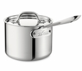 All-Clad Stainless Steel Tri-Ply 1.5 Quart Saucepan