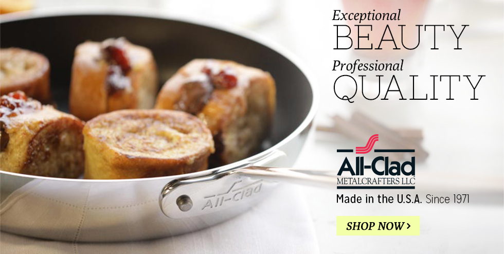 All Clad Cookware - Function Meets Beauty