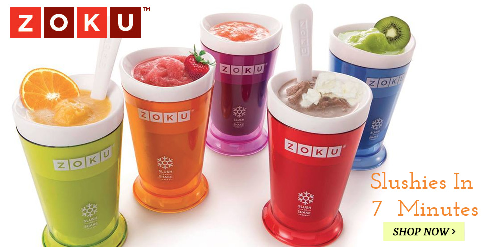 Zoku Slush Maker, Make Slushies In 7 Minutes