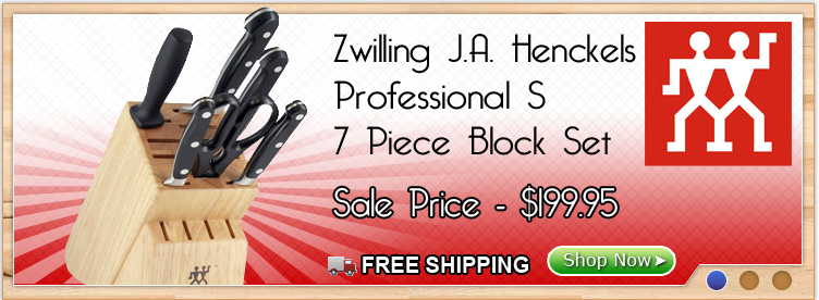 Zwilling J.A. Henckels Block Set Only $199.95