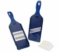 Kuhn Rikon Mandolin Slicer Set Of 2 Polka Dot Blue