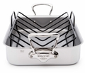 Mauviel Mauviel M'cook Stainless Steel Roasting Pan