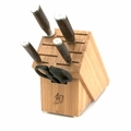 Shun Premier 6 Piece Basic Knife Block Set
