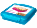 Sistema Klip It 450ml Color Sandwich Box - 1 Box - Assorted Colors
