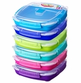 Sistema Klip It Small Microwave Plate Togo Assorted Colors