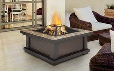 Alderwood Gel/Wood Fire Pit