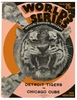1935 World Series Detroit Tigers vs Chicago Cubs poster
