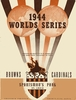 1944 WORLD SERIES St. Louis Cardinals vs St. Louis Browns Poster