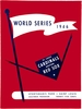 1946 WORLD SERIES St.Louis Cardinals vs Boston Red Sox  Poster
