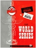 1948 WORLD SERIES Cleveland Indians vs Boston Braves Poster