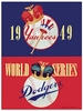 1949 WORLD SERIES New York Yankees vs Brooklyn Dodgers Poster