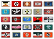24 WWII Flags - FREE Delivery