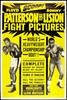Boxing Floyd Patterson vs Sonny Liston 1962 Poster
