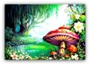 MYTHICAL FOREST Art Print - FREE Shipping