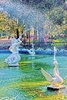 SCENIC FOUNTAIN Art Print - Ships FREE