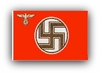 German Service Flag wwII
