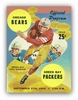 Green Bay Packers 1959 Football Program Poster
