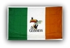 Guinness Irish Beer Flag Sign  - Ships Free