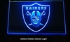 Oakland Raiders Electric Light